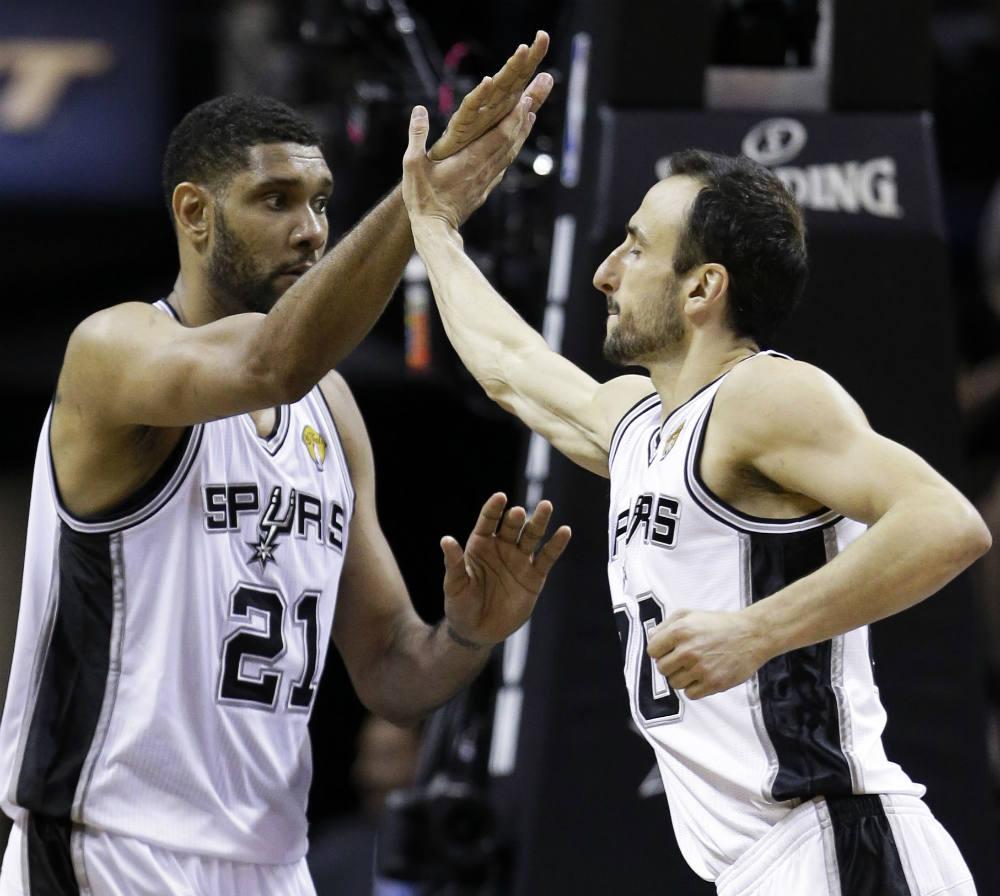 Spurs Finals DL