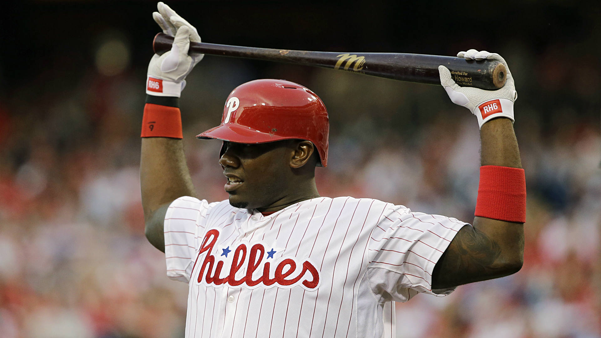 Daily fantasy baseball starting lineup: Howard = value power