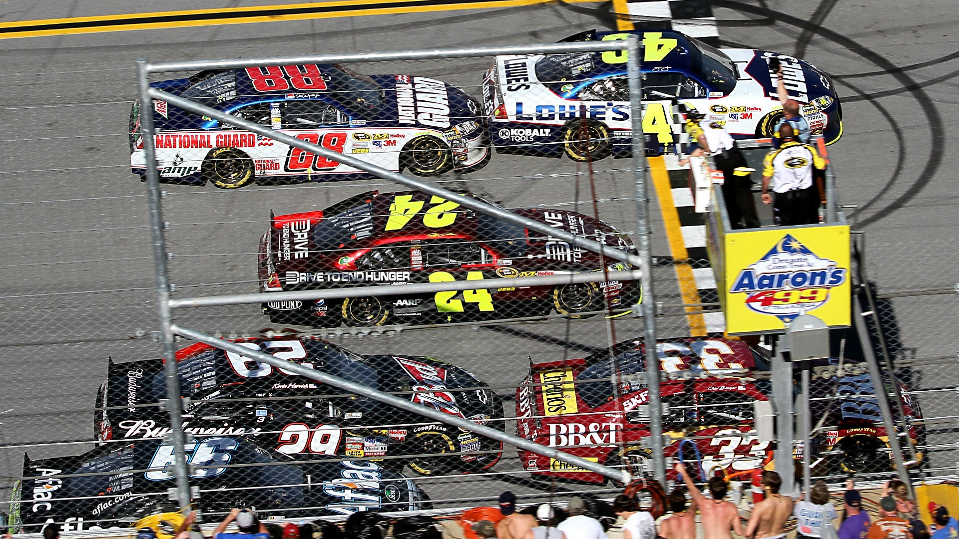 Nascar - Ranking The Closest Finishes In Nascar History