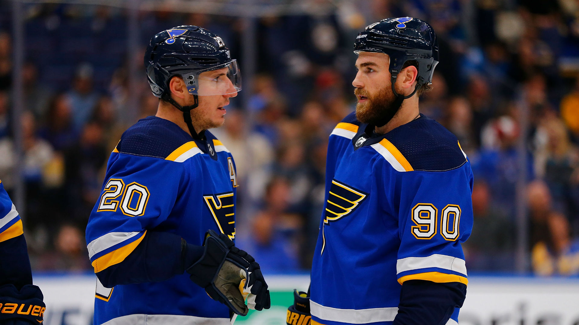 Blues Veteran Ryan O'Reilly Scores First Career Hat Trick