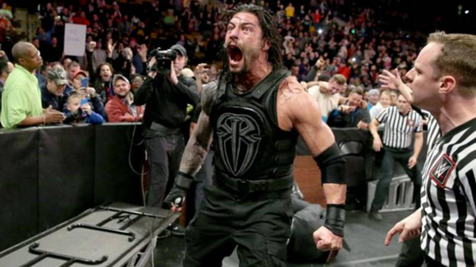 roman reigns suspended by wwe for wellness policy violation wwe