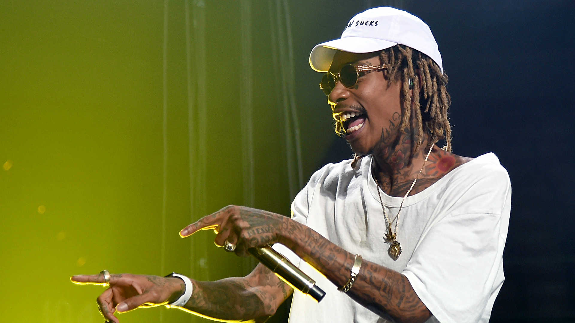 Rapper Wiz Khalifa Nabbed For Public Urination After Pitts Midnight Madness Basketball Event
