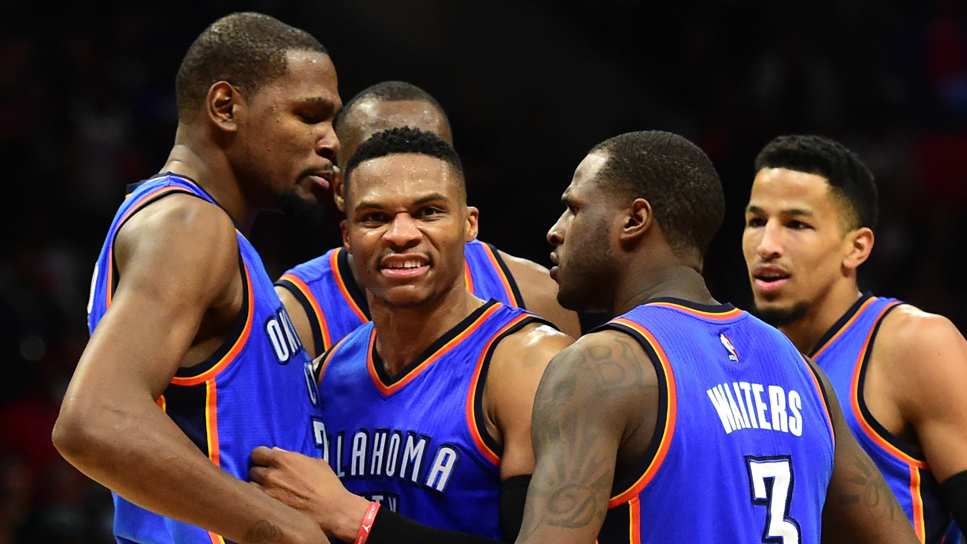 It doesn't mean that the Thunder can't match up with the Warriors ...