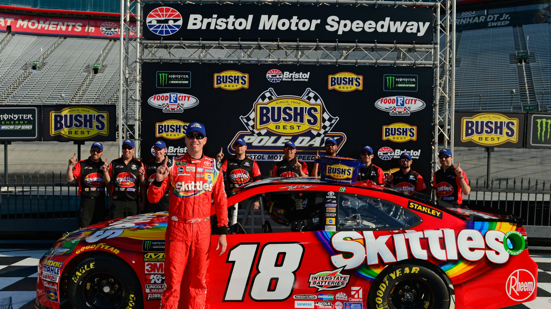 NASCAR at Bristol: Live updates, results from Monday's Food City 500