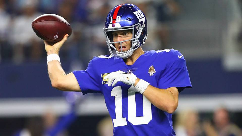 Giants' Eli Manning is the same QB he has always been — for better or worse