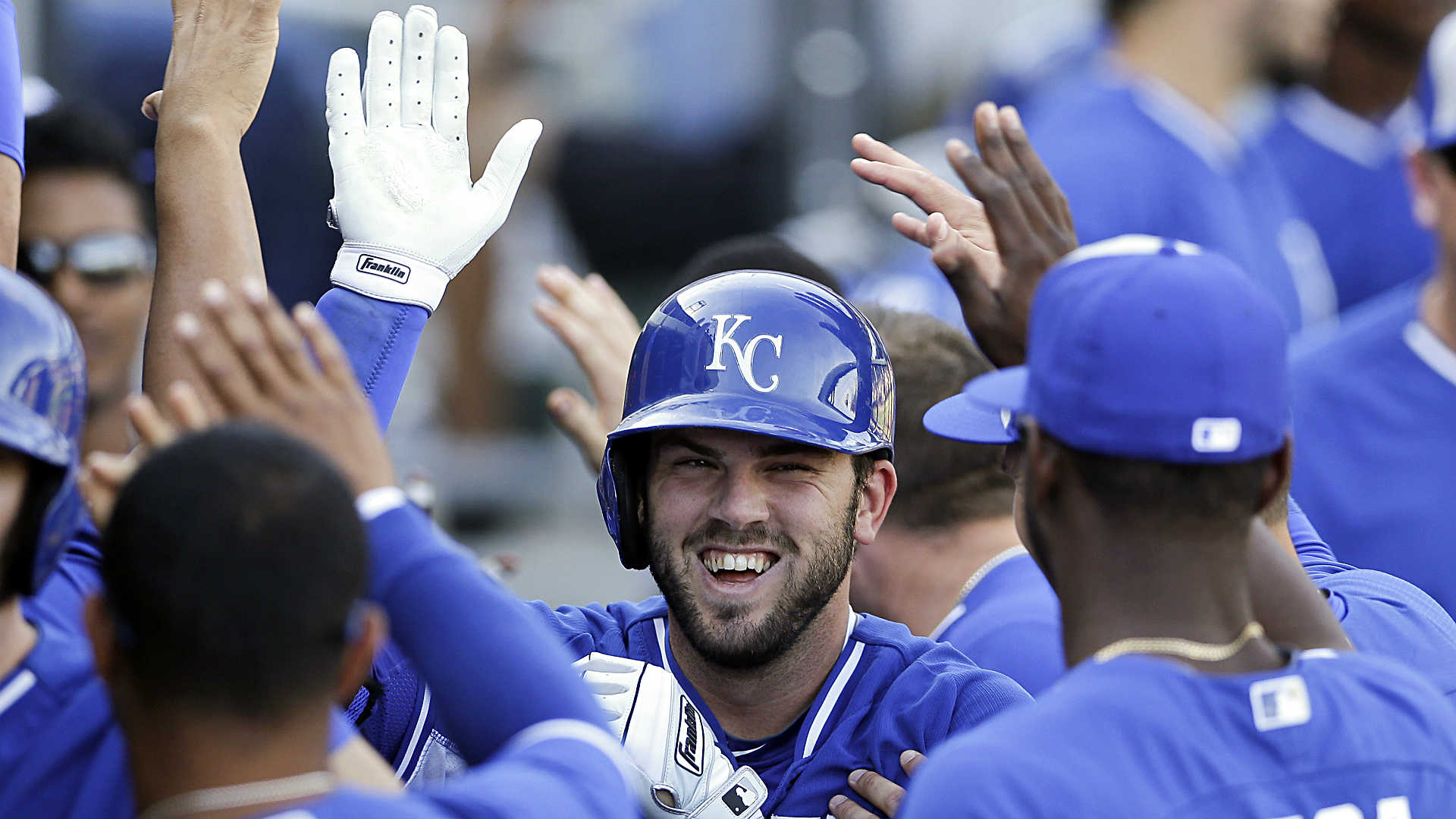 Pulse Check:  Should owners buy into Mike Moustakas' spring-training hot streak?