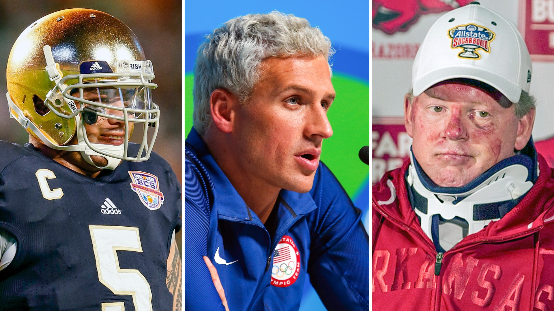Ryan lochte isn t the only sports figure involved in a bizarre