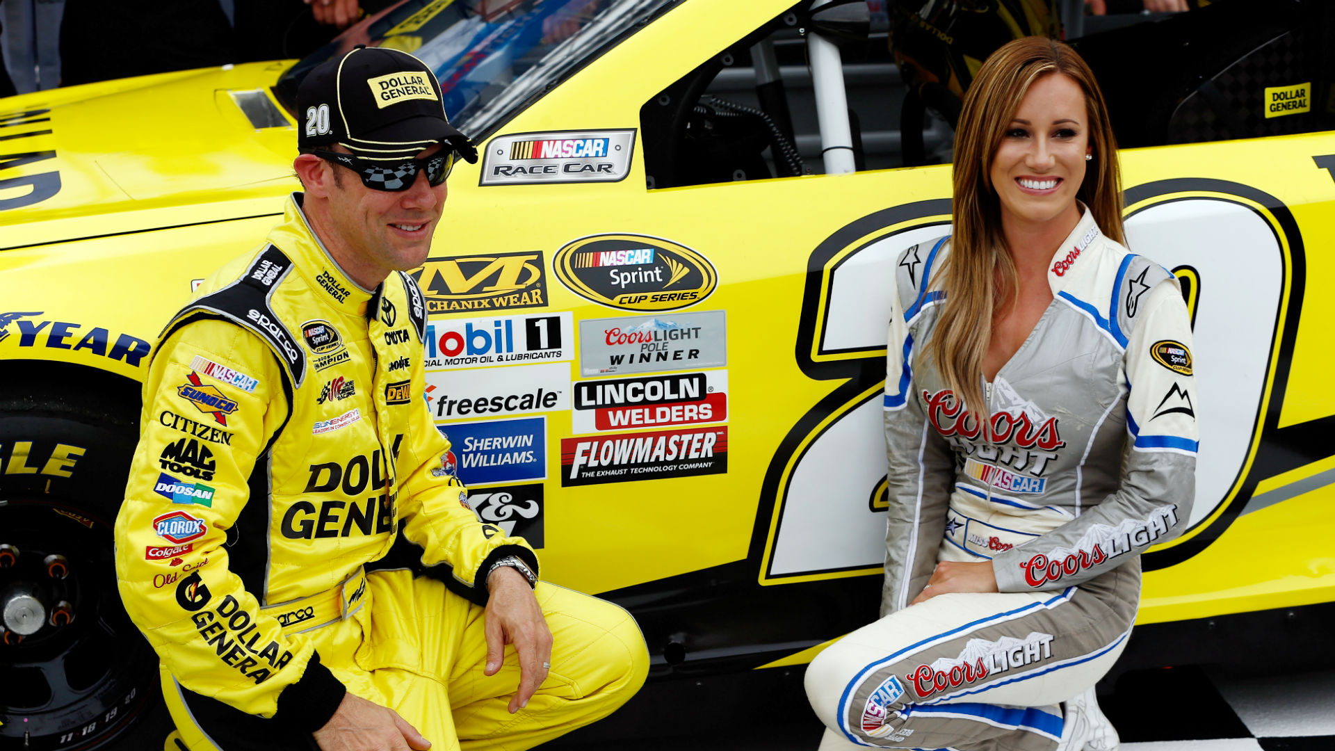 Food City 500 lineup: Matt Kenseth wins first pole of season