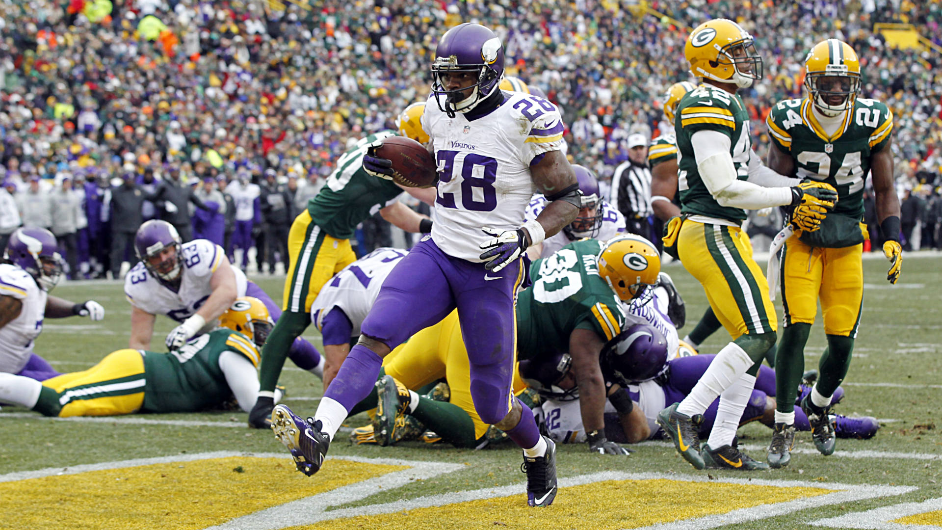 Fantasy football mock draft: Adrian Peterson all day