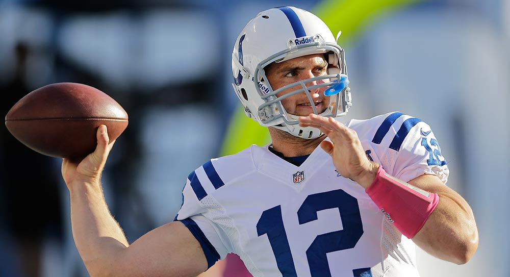 Colts' Luck headlines top DraftStreet picks for Week 7