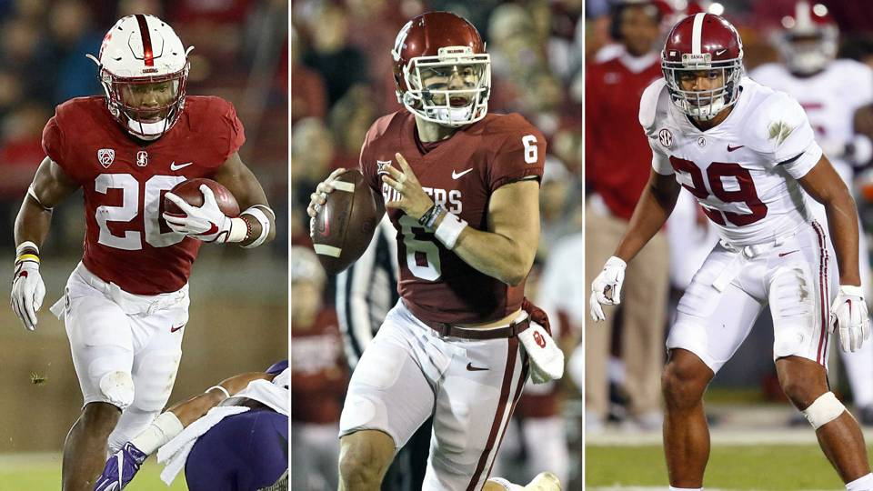 Bryce Love-Baker Mayfield-Minkah Fitzpatrick-121817-GETTY-FTR