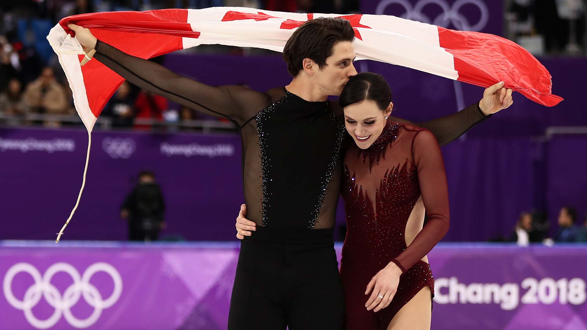 Virtue, Moir tell Ellen DeGeneres they're 'definitely' not a couple