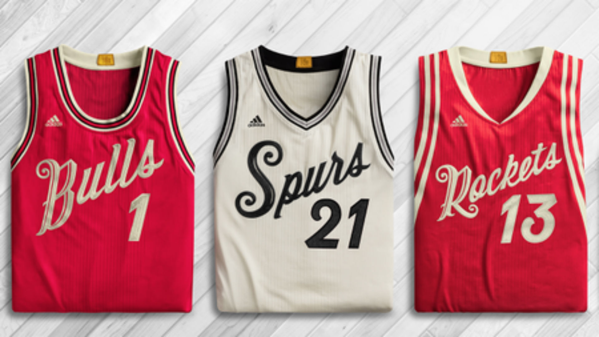 Hey, the NBA Christmas jerseys for 2015 aren't bad | NBA ...