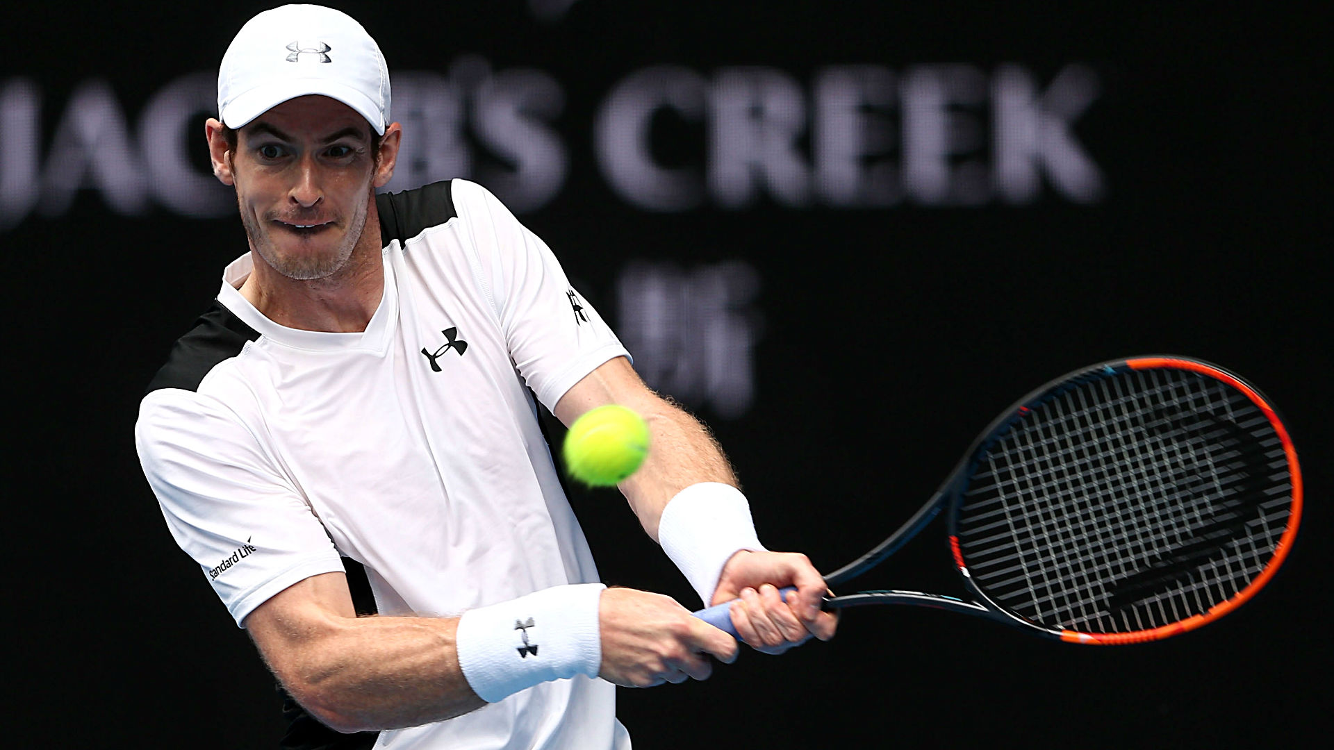 Andy Murray beats big server Sam Groth