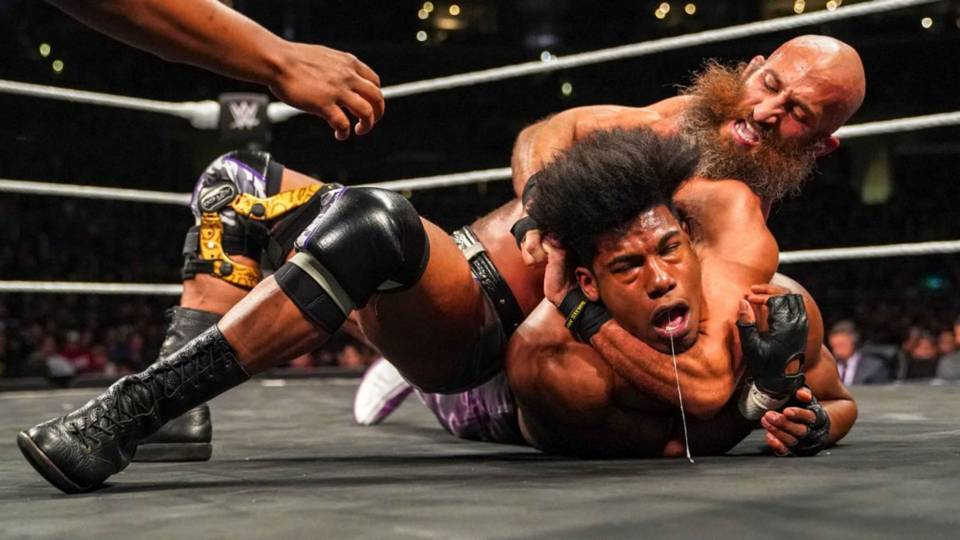wwe nxt takeover war games results ciampa escapes black gets