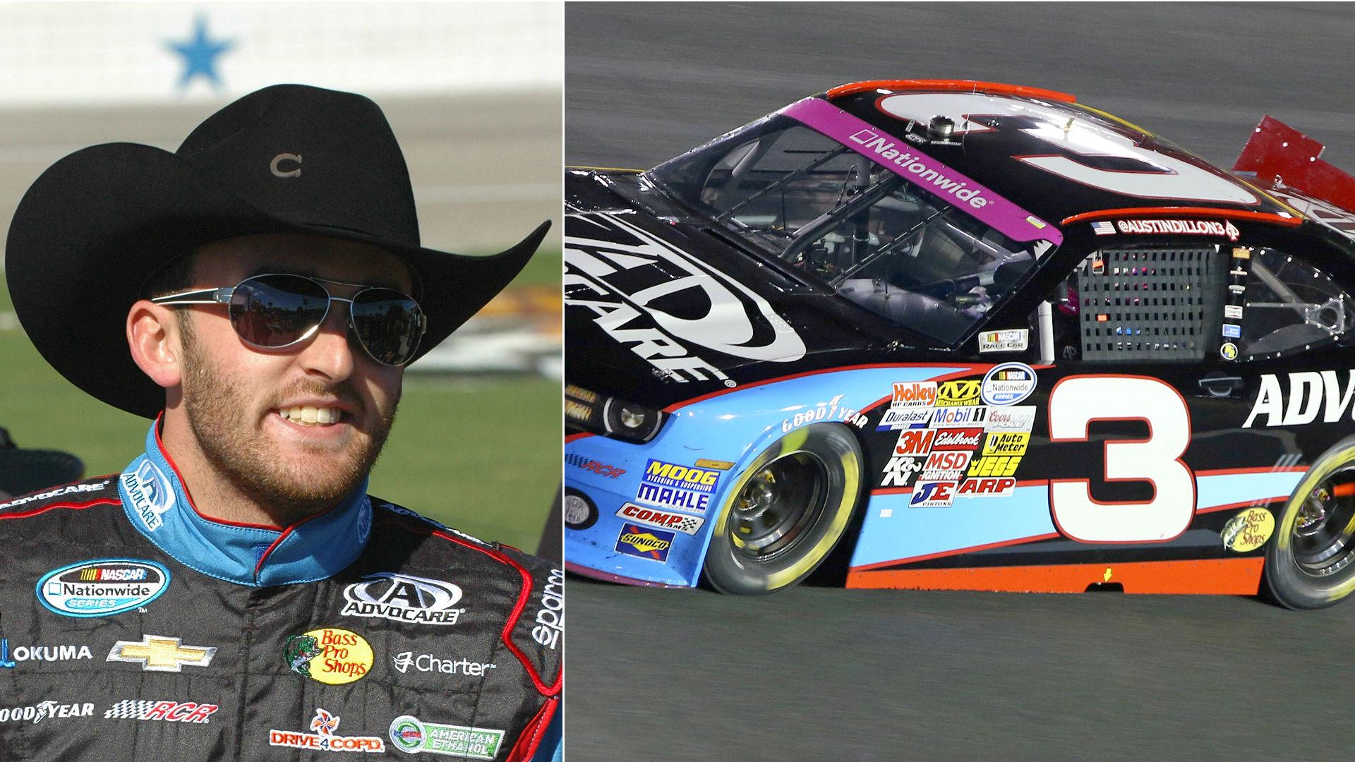 Austin Dillon and the No. 3 car