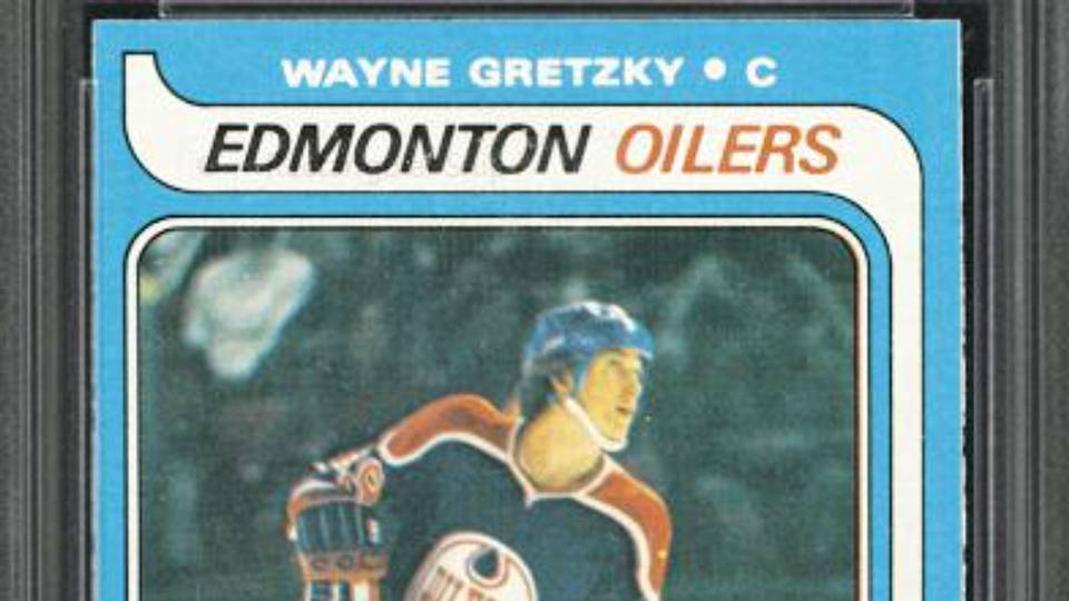 Wayne Gretzky Rookie Card Imperfections And All Sells For Record 465000 NHL