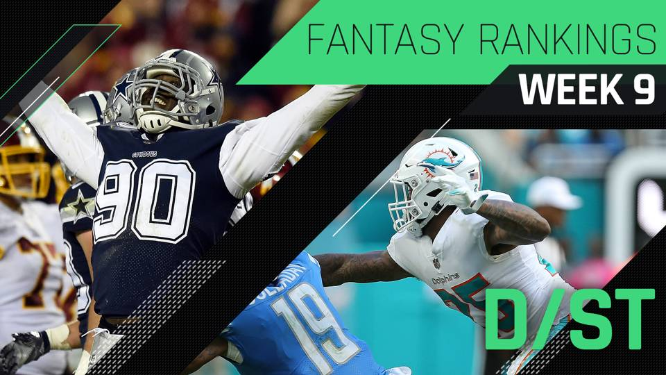 Fantasy-Week-9-DST-Rankings-FTR