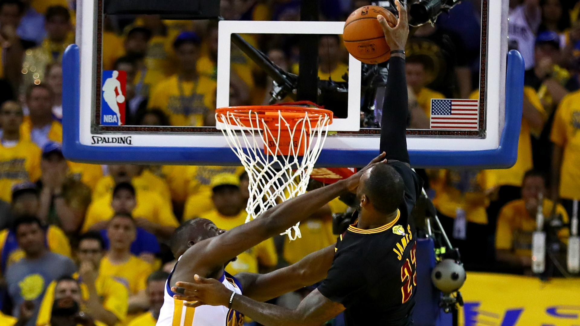 Why we should be sad LeBron James didn't dunk over Draymond Green   NBA   Sporting News