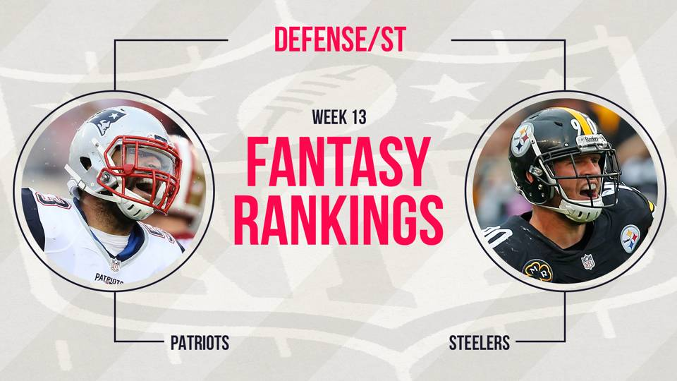 Week-13-Fantasy-DST-Rankings-GETTY-FTR