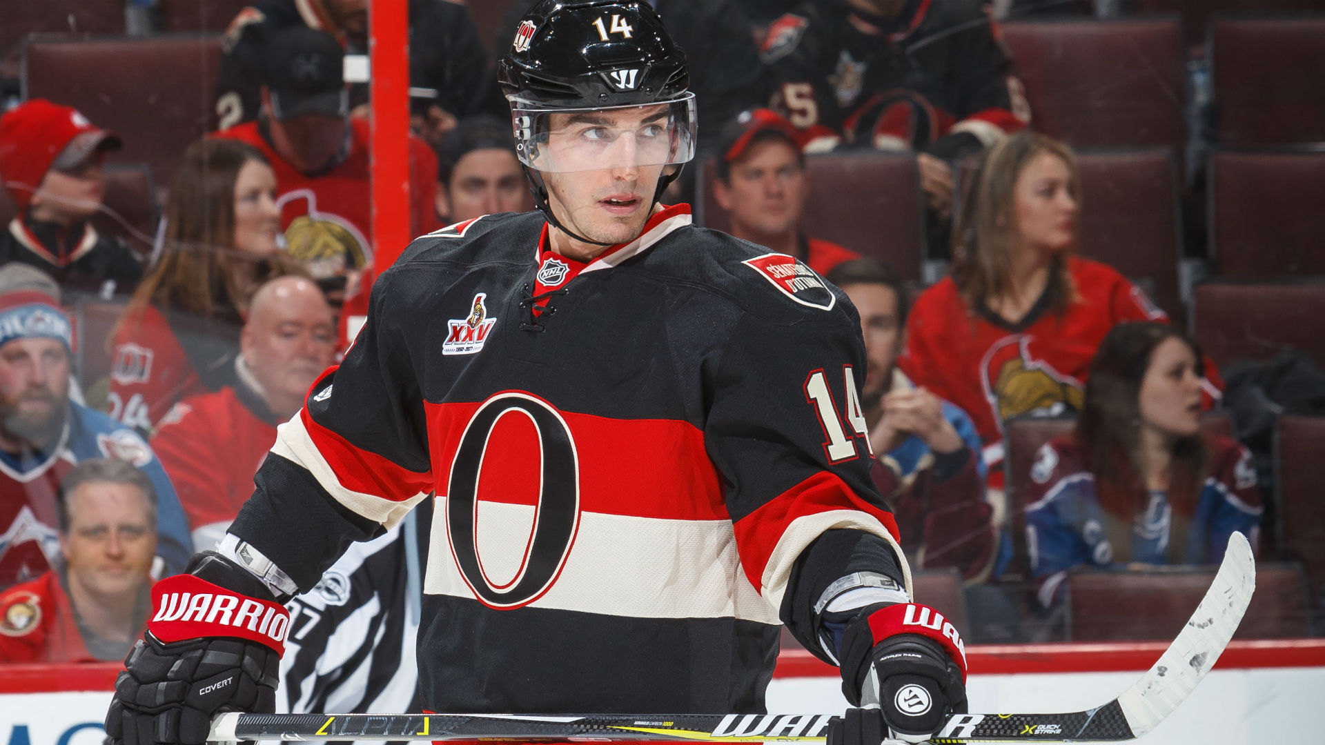Alex Burrows appears to knee Taylor Hall in head