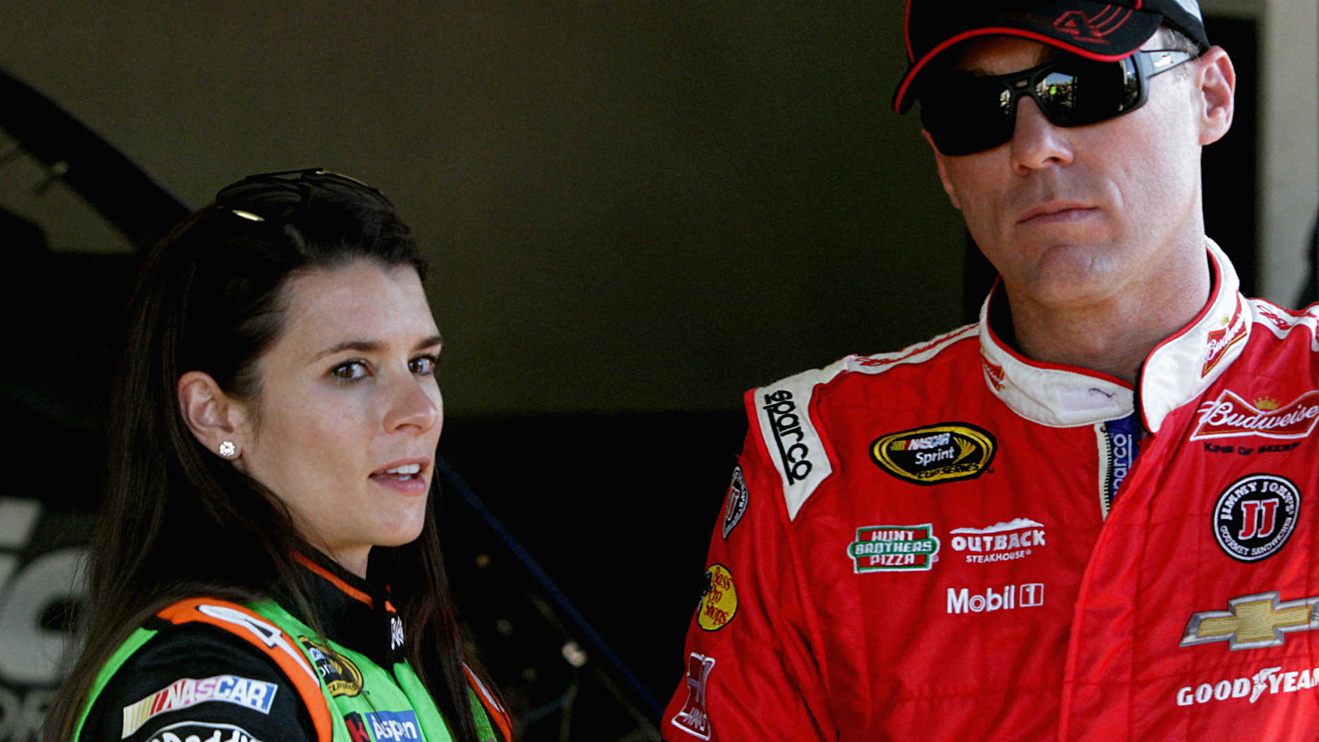 Danica Patrick started stock-car career at disadvantage, Kevin Harvick says