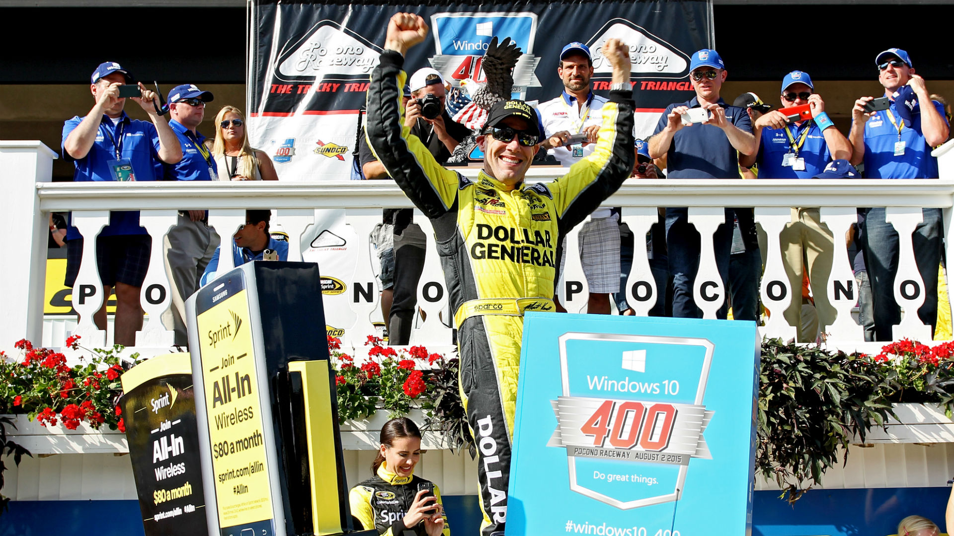 Chase for the Sprint Cup standings going into Watkins Glen