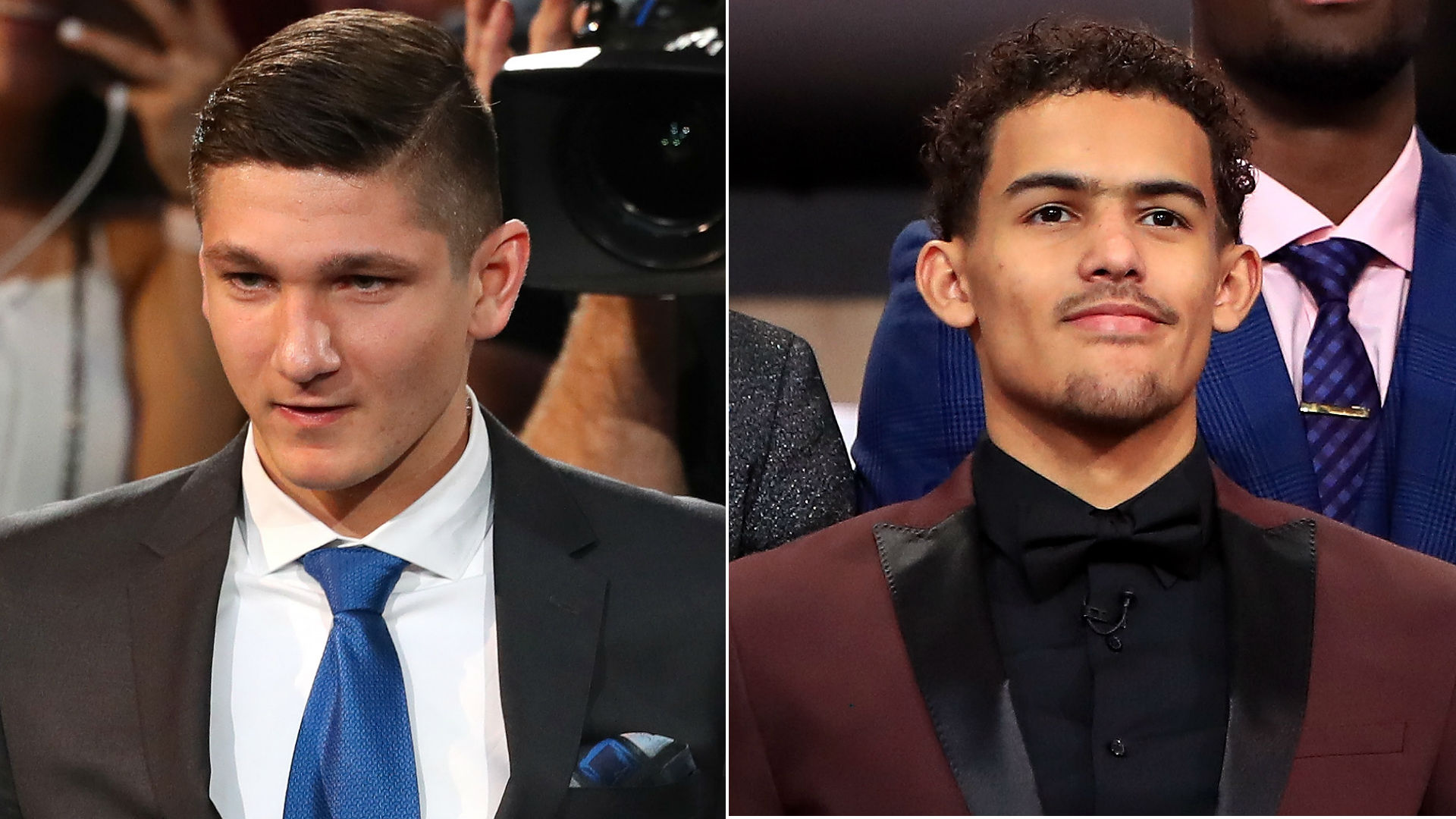 Grayson Allen, Trae Young got tangled up in a summer league game