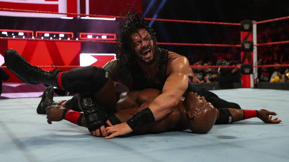 Reigns gets the 1-2-3 and will challenge The Beast at SummerSlam!
