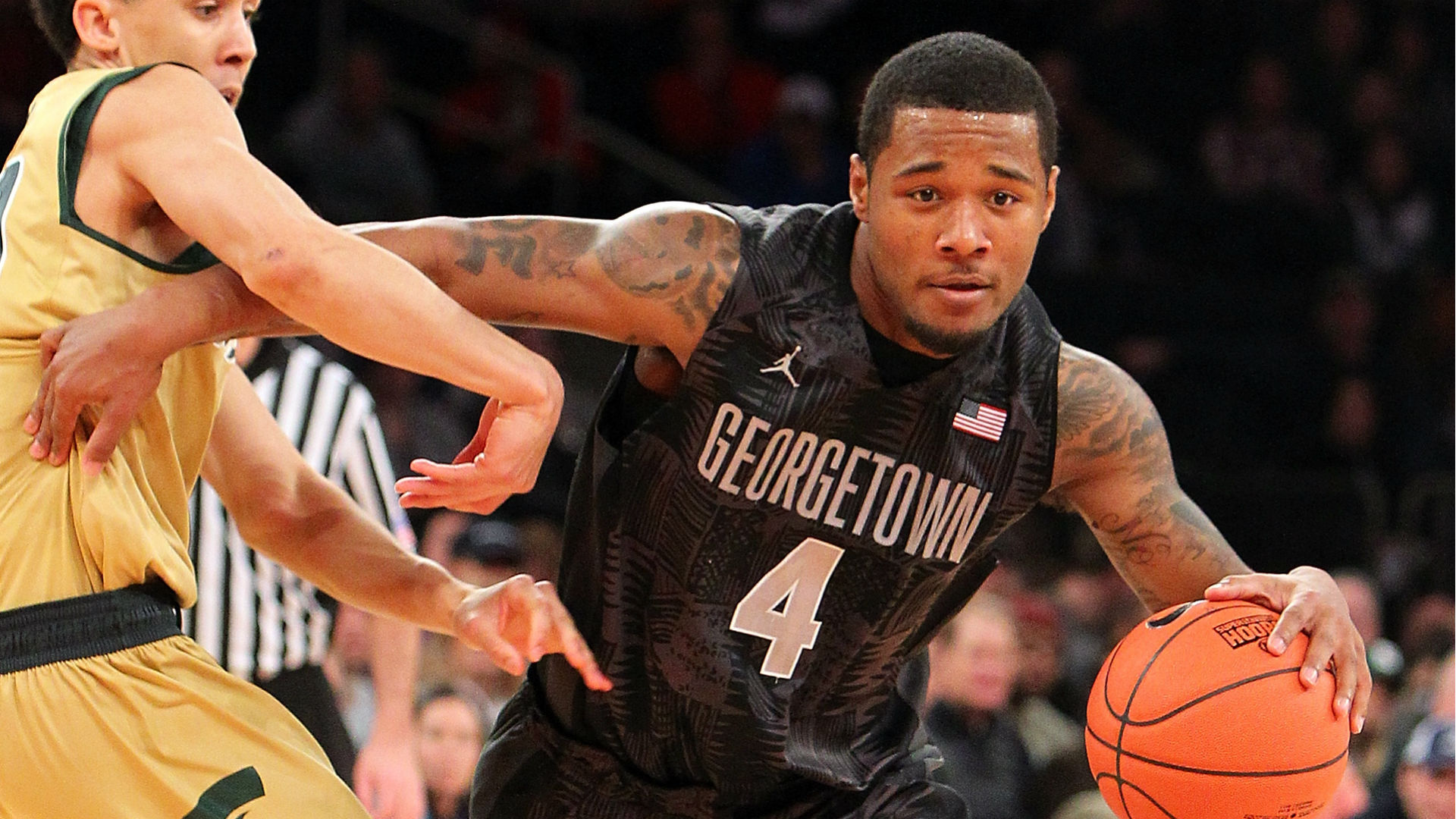 College basketball lines and picks - Georgetown in search of signature win against Kansas