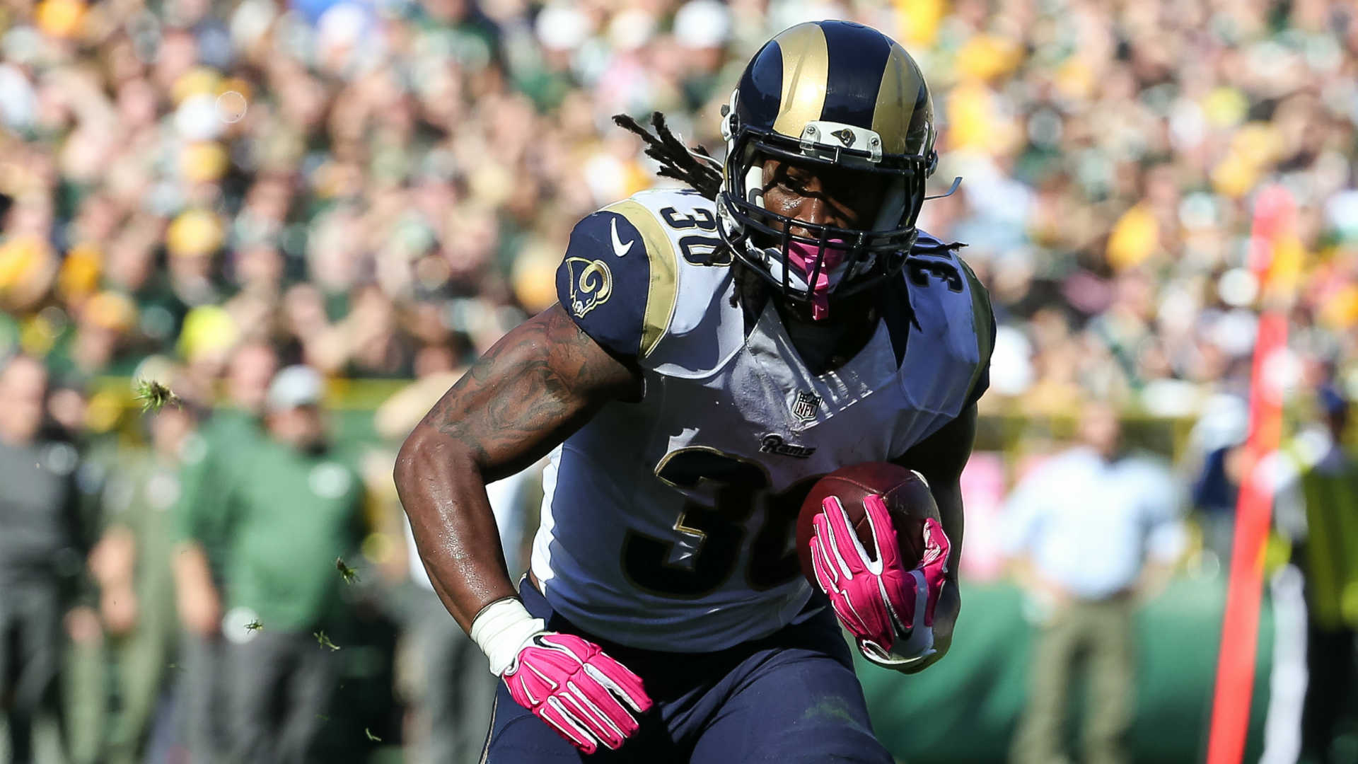 NFL rookie rankings Rams Todd Gurley sprints to top