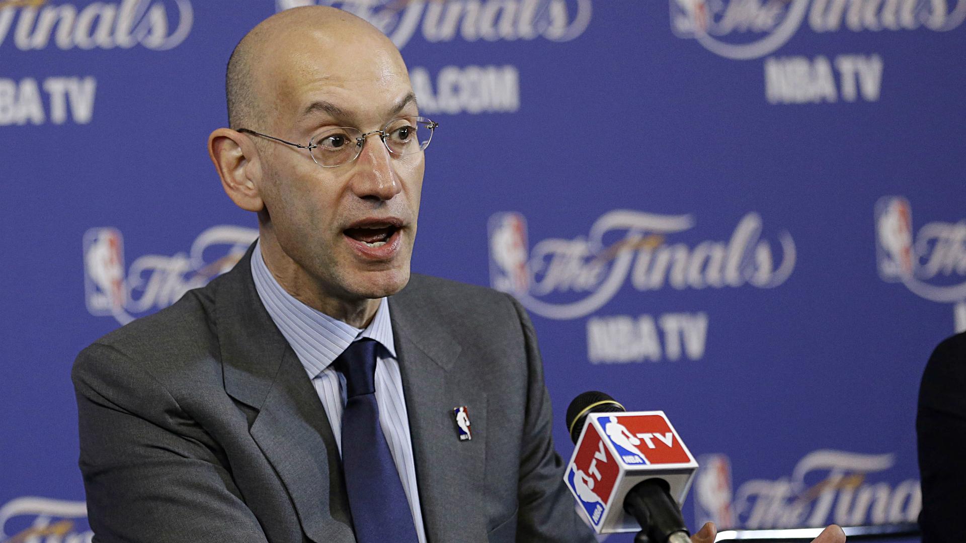 What were Adam Silver's motives for pro-sports betting piece in New York Times?