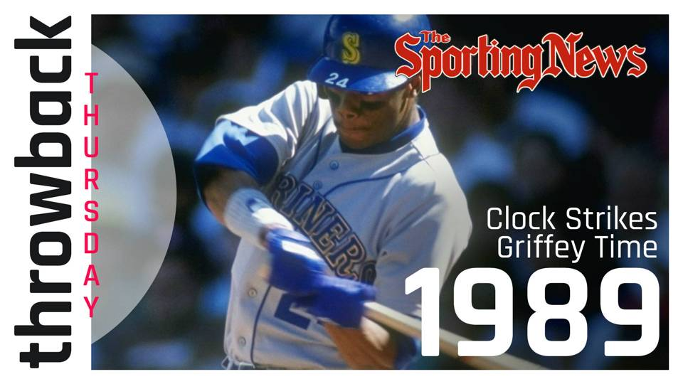 SN Throwback Thursday  Tracking Ken Griffey Jr. s meteoric rise from No. 1  pick to MLB star 5b1977d10