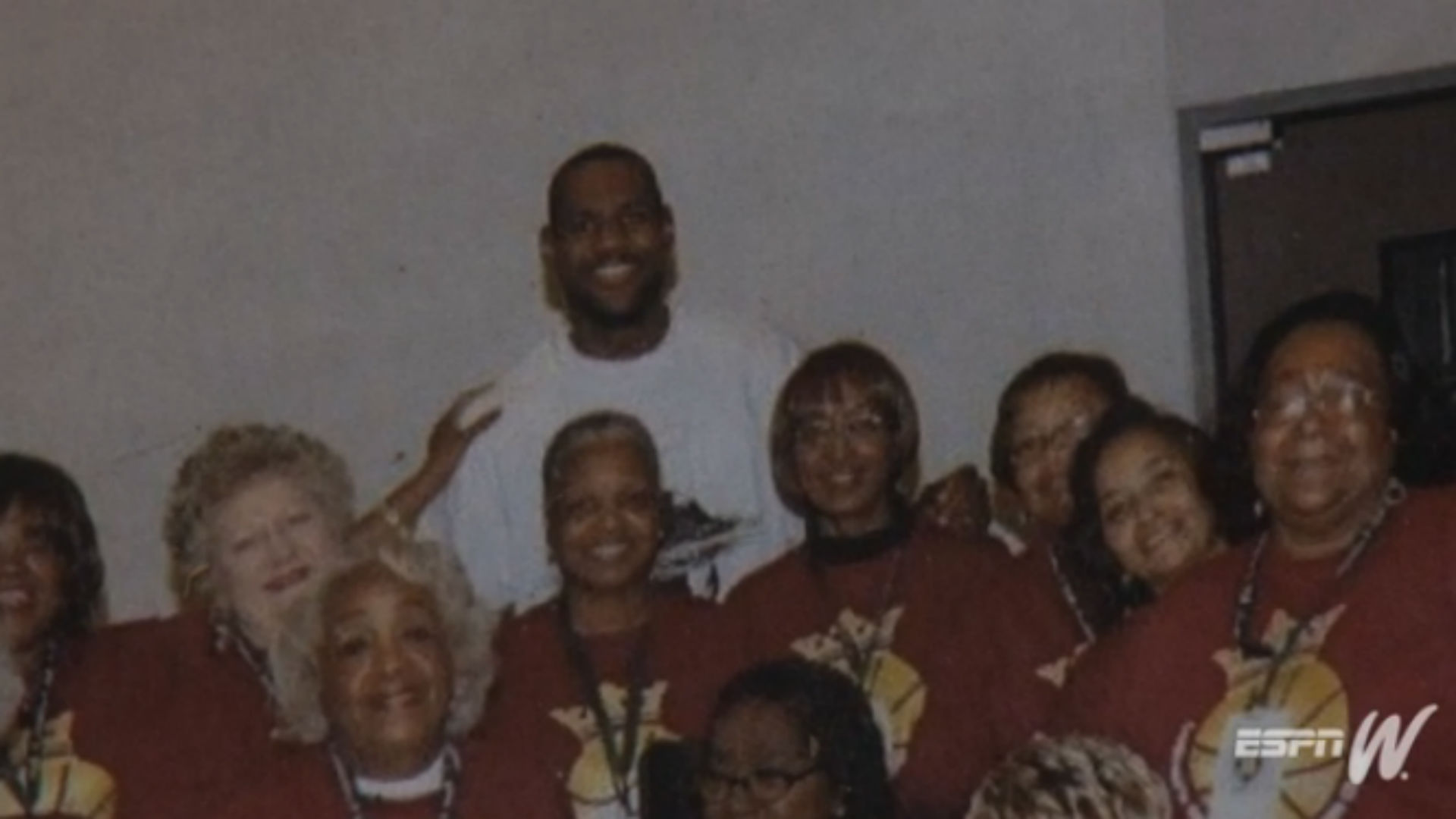 No one goes harder for LeBron James than these grandmothers