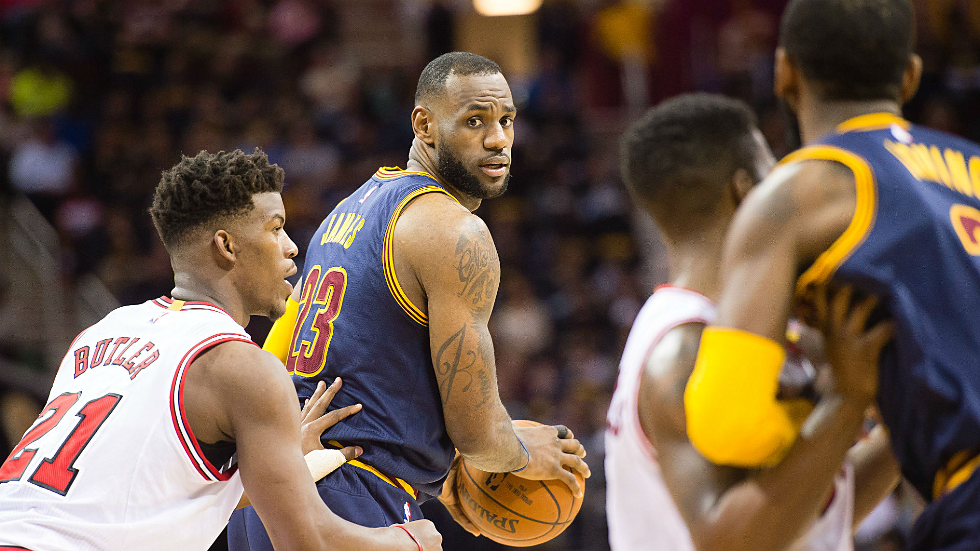 Love injury, Smith suspension impact Cavs' futures odds, series price vs. Bulls