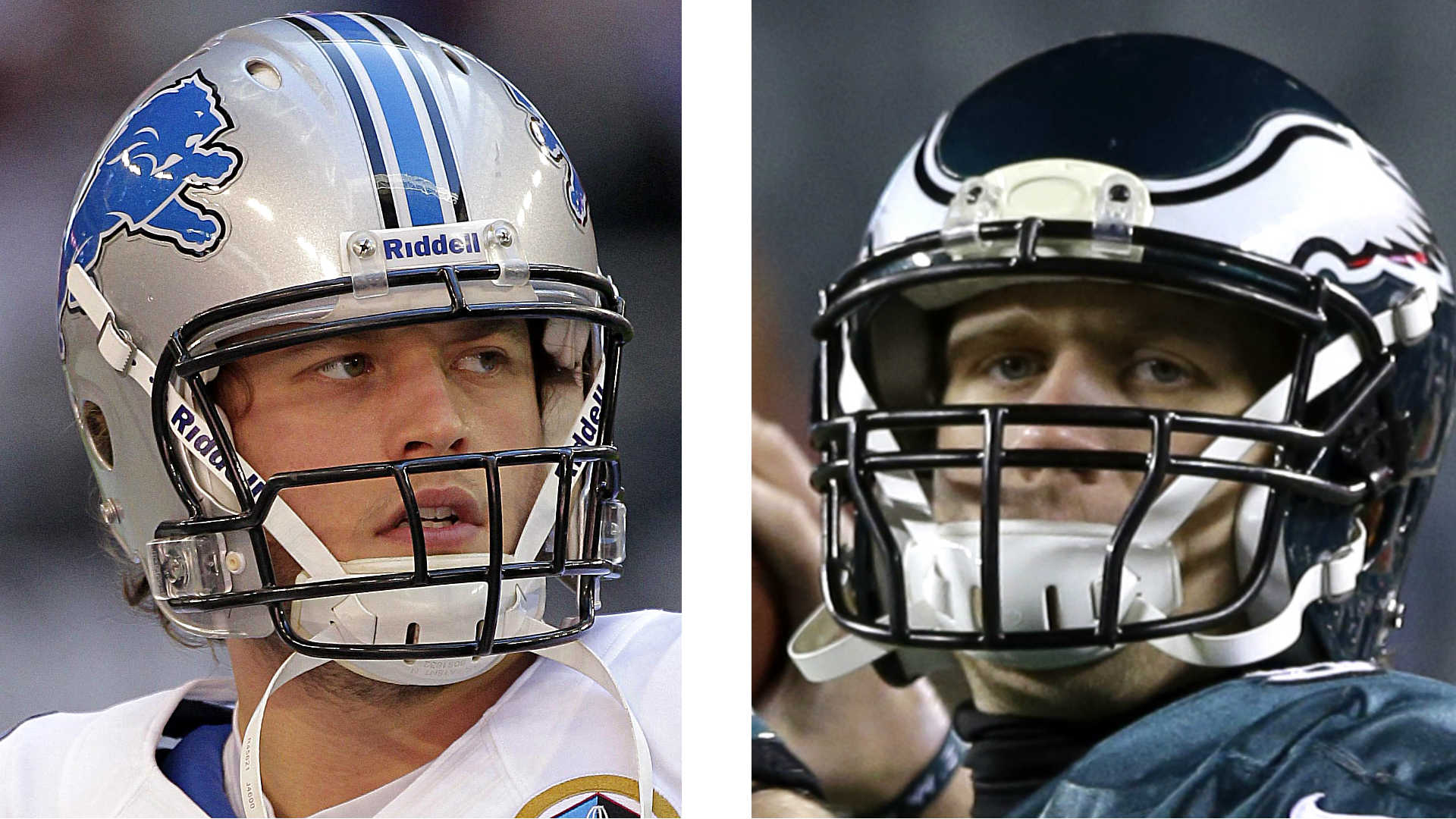 Matt Stafford and Nick Foles
