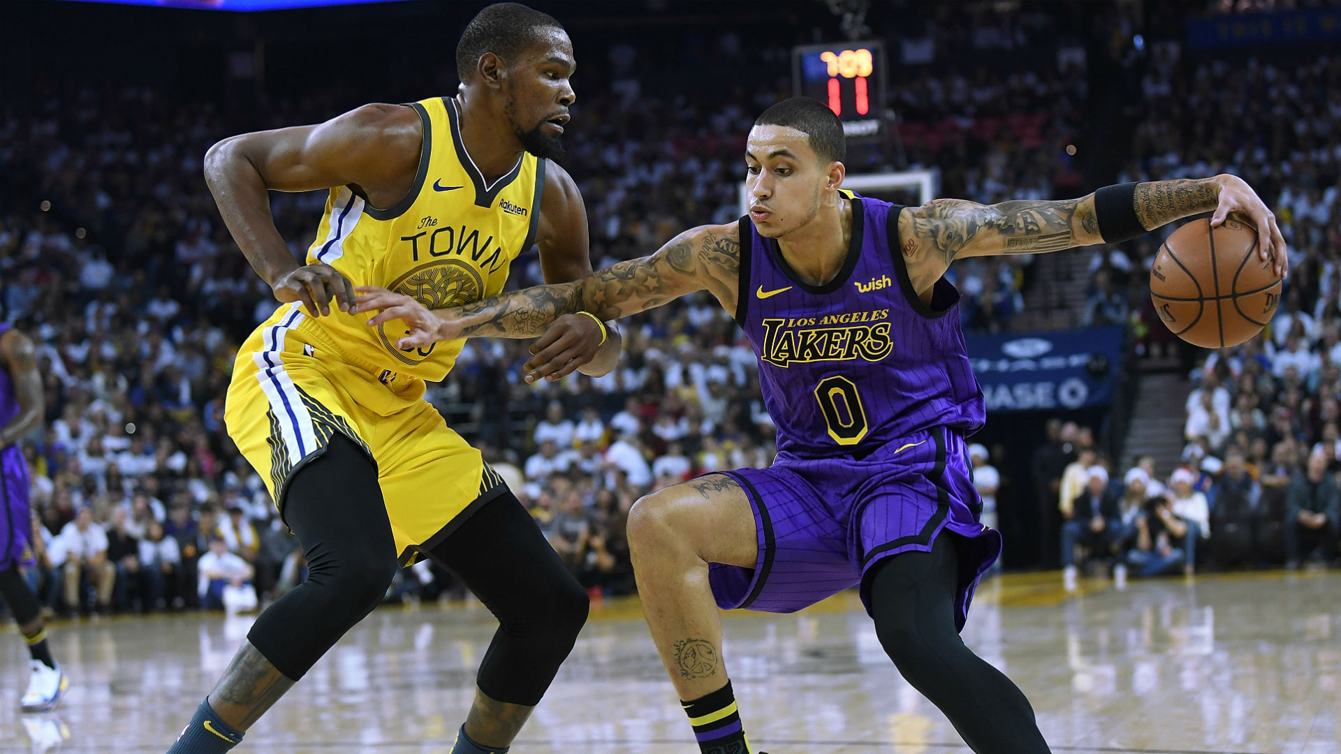Lakers Vs Warriors Results Score Highlights From Los Angeles Stunning Victory