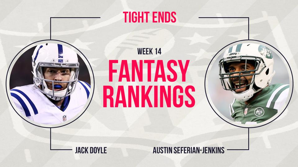 Fantasy Football Week 14 Rankings Tight End Fantasy