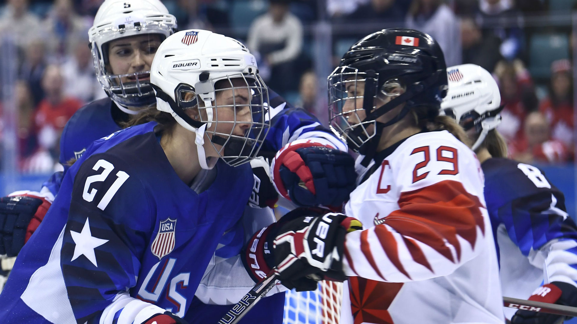 CWHL 2018-19 season preview: former foes, now teammates Hilary Knight, Marie-Philip Poulin highlight offseason moves