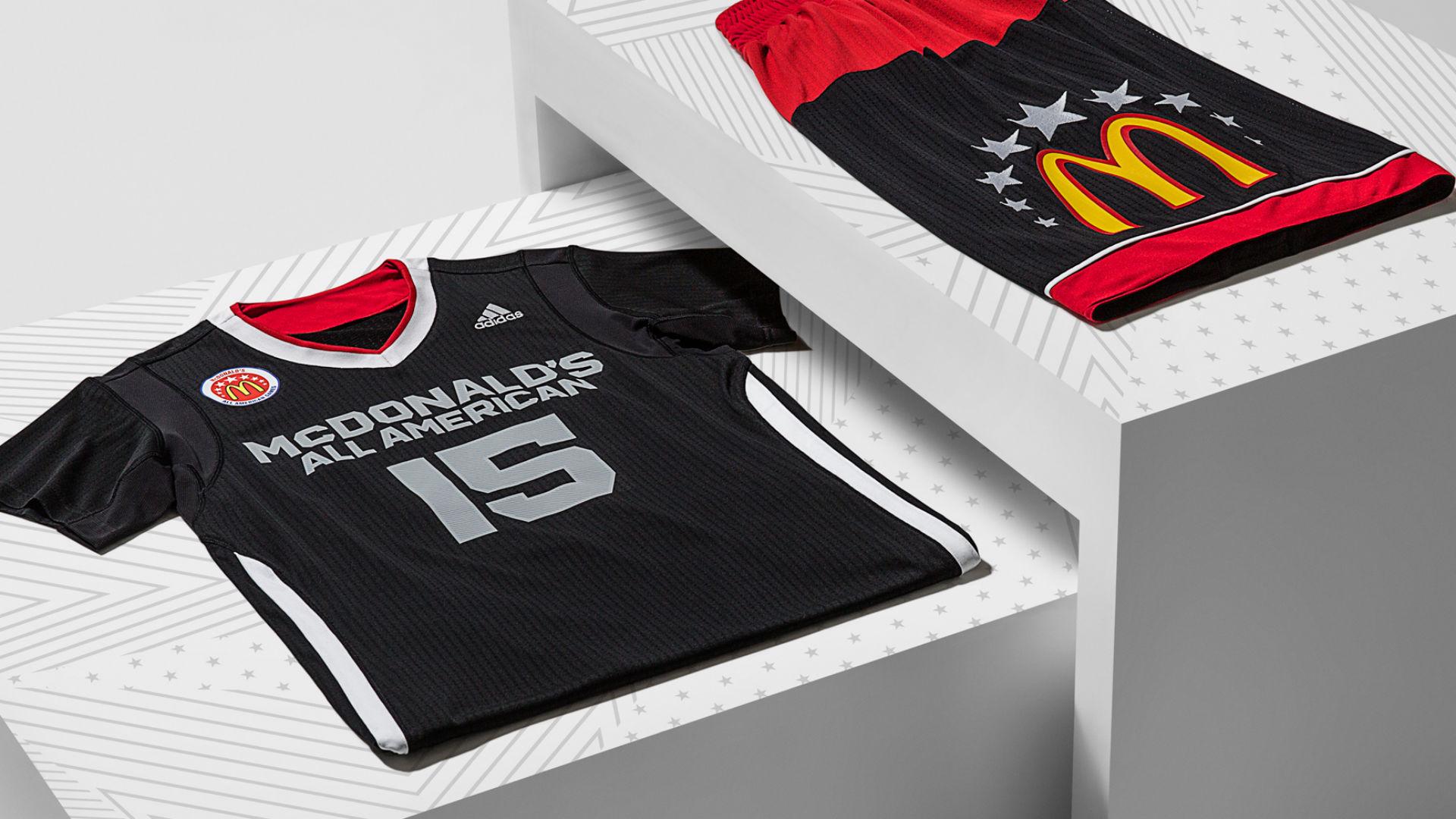 adidas unveils 2015 McDonald s All-American uniforms  857f0e7c2