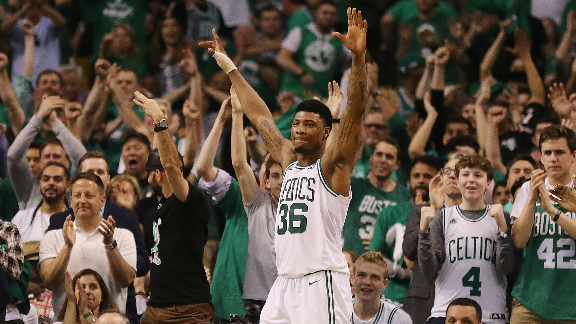 Celtics \'amped\' for Game 7 that will echo at TD Garden for years to ...