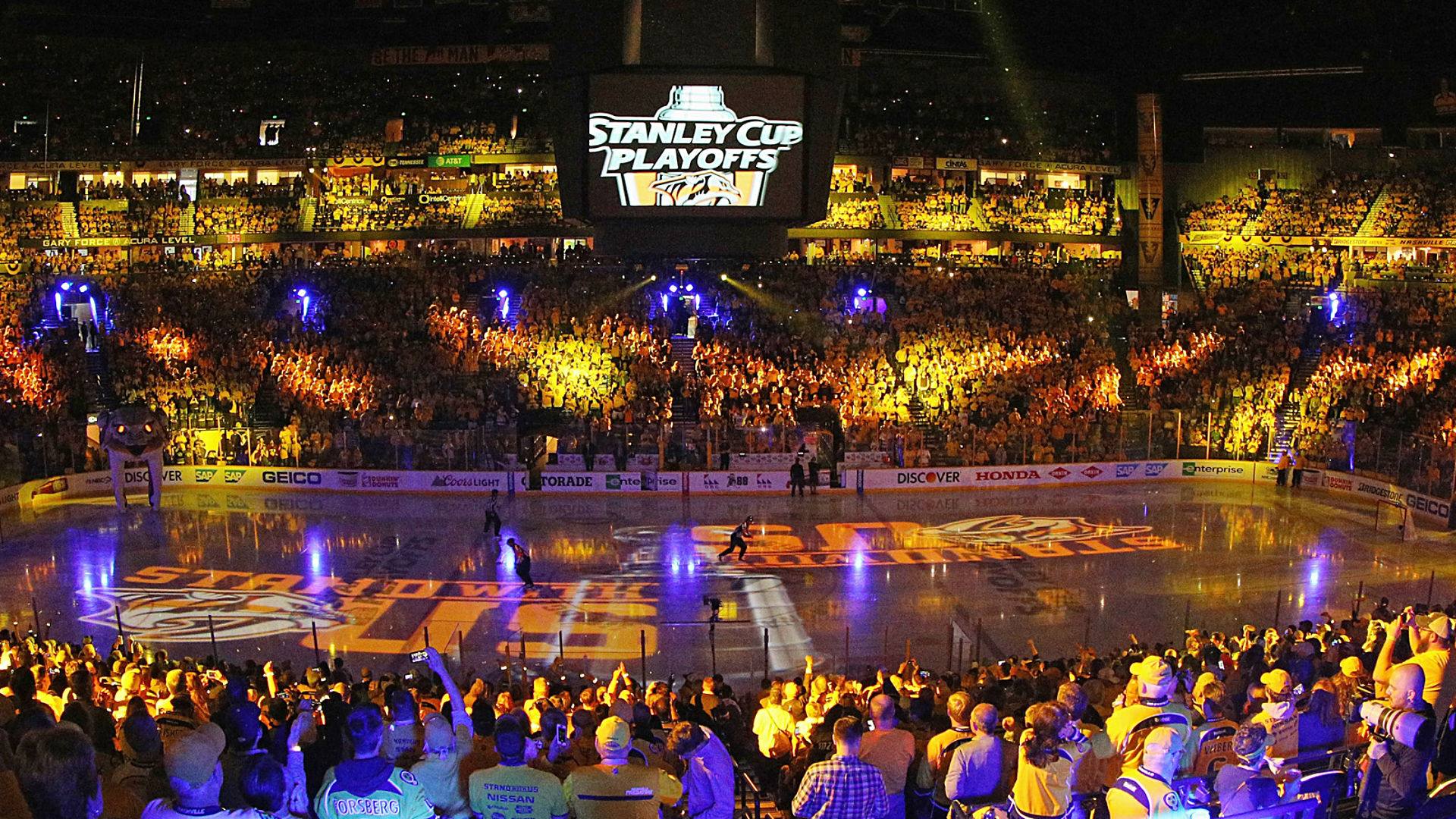 Nashville Is A Great Place To Play Hockey