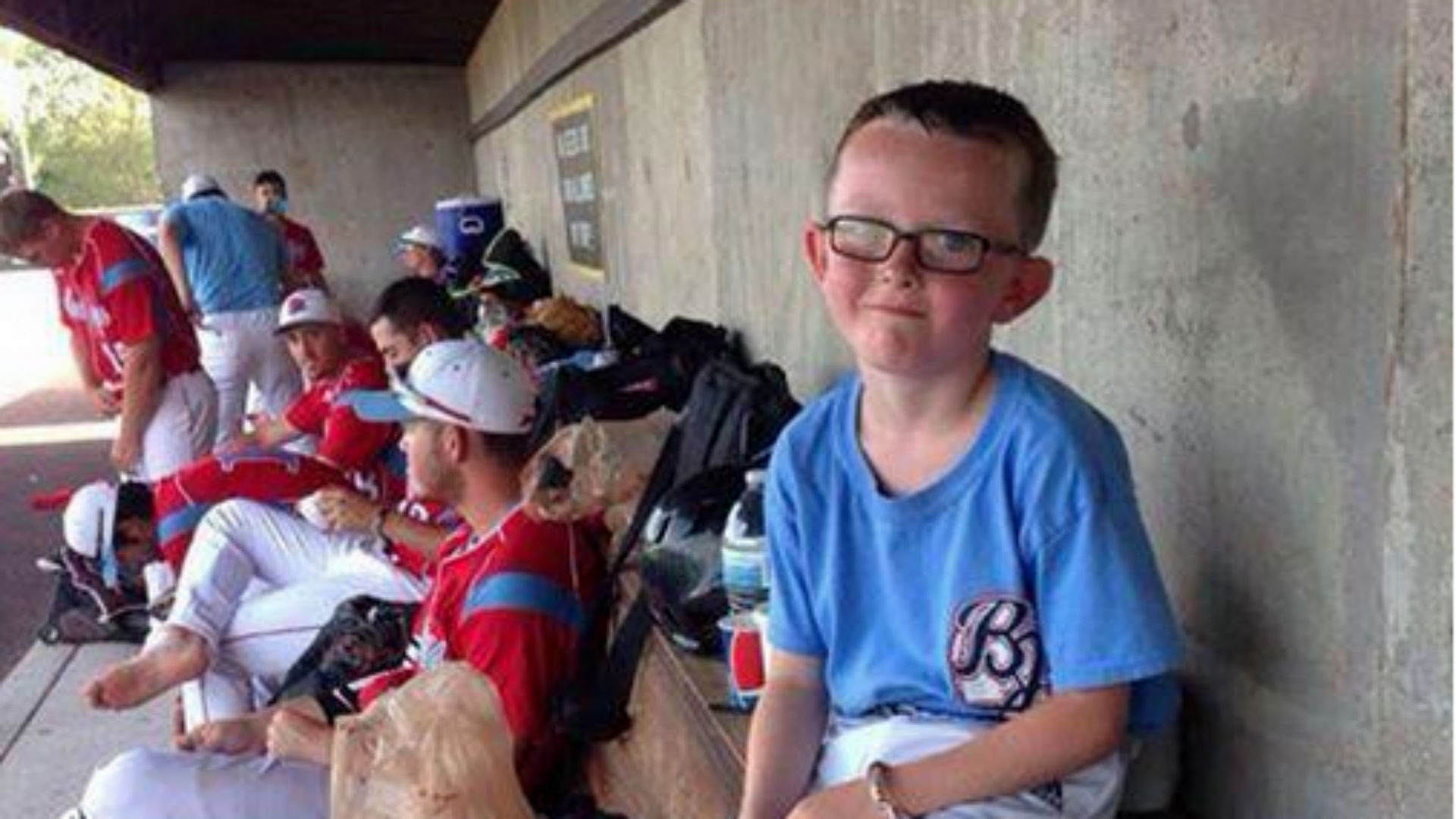 Batboy, 9, in critical condition after being hit by warmup swing