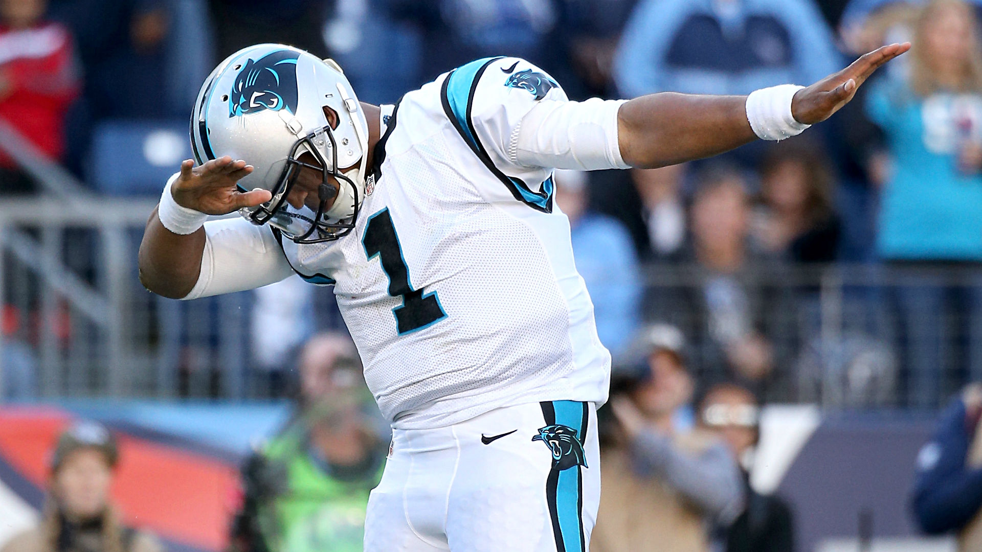 Panthers fans ready to dab with Cam Newton on Sunday