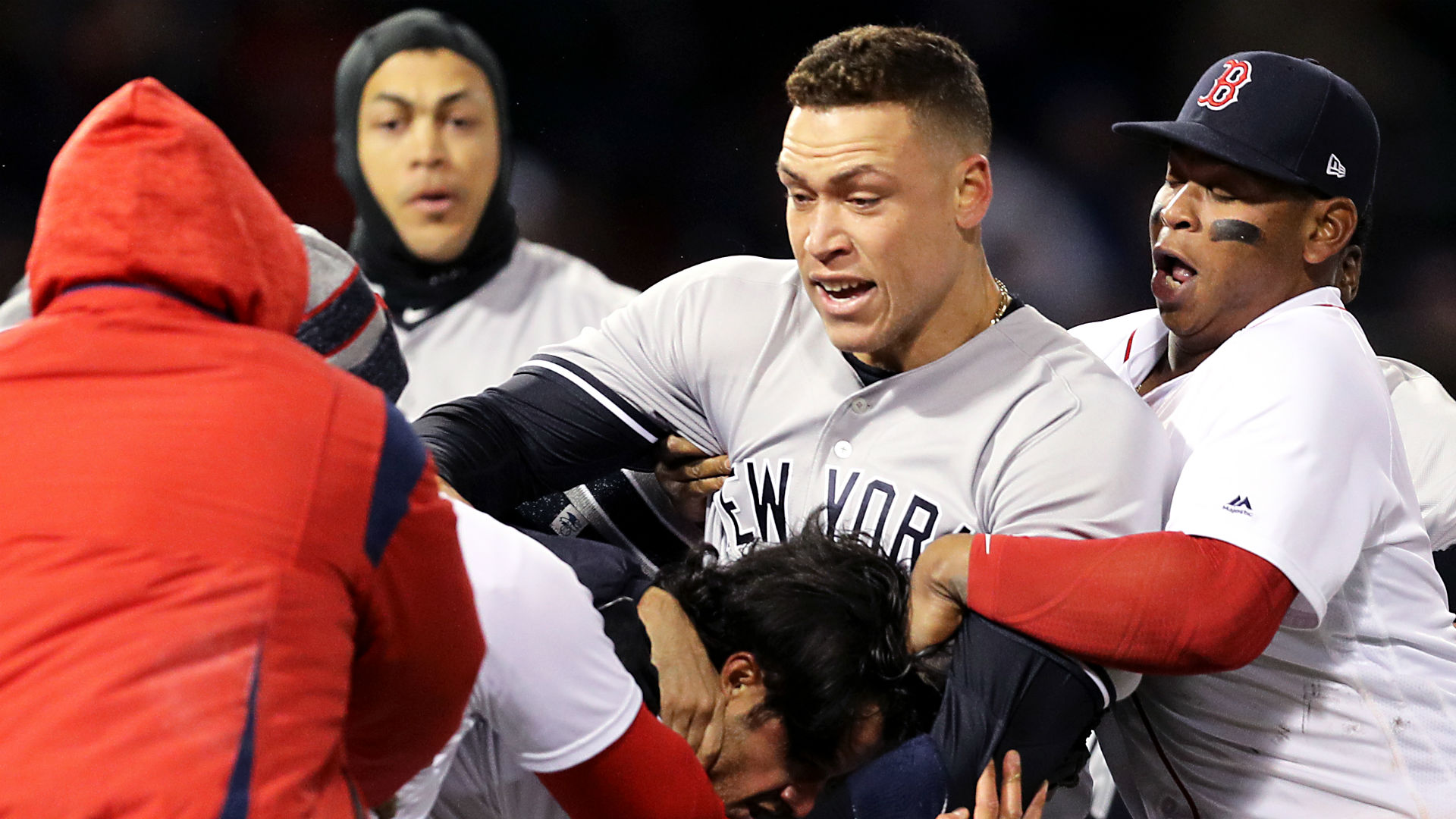 sox spank yankees Red