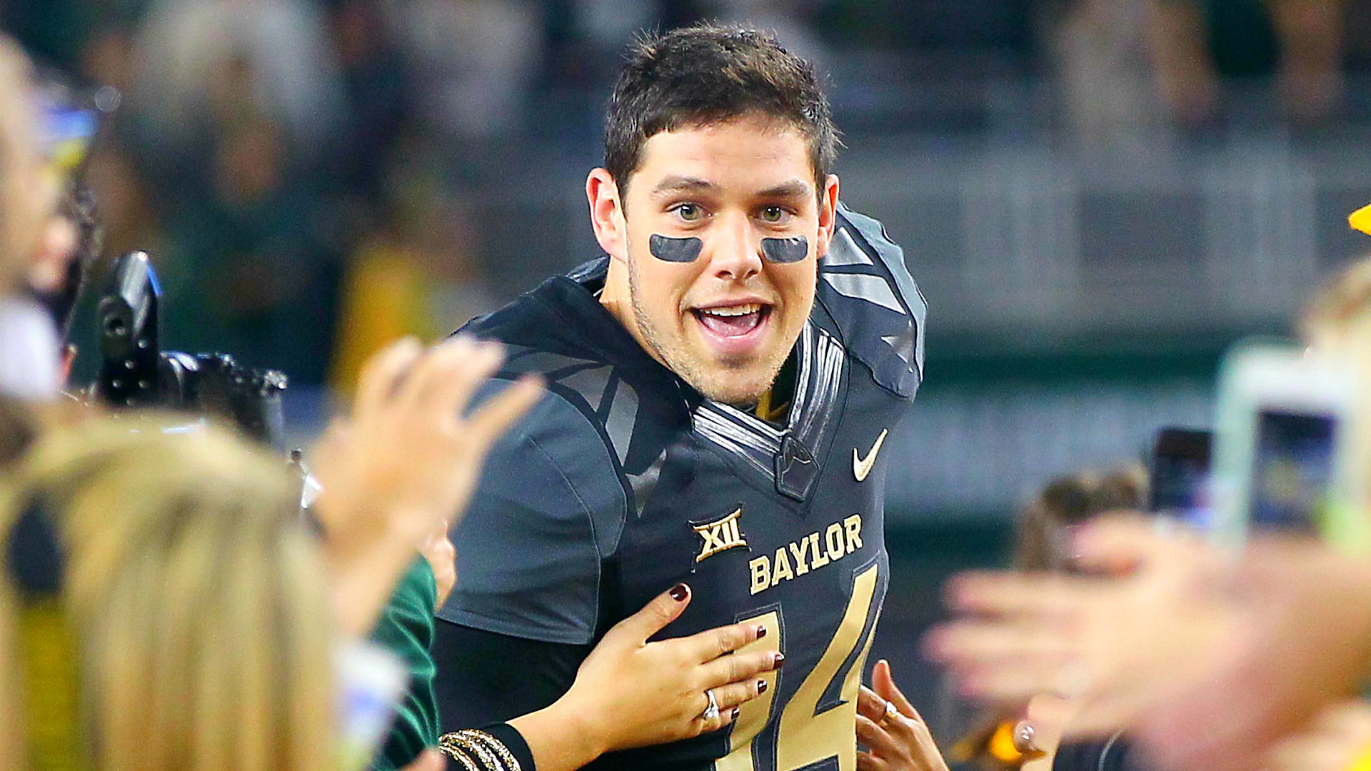 Easygoing Bryce Petty all smiles in face of NFL Draft