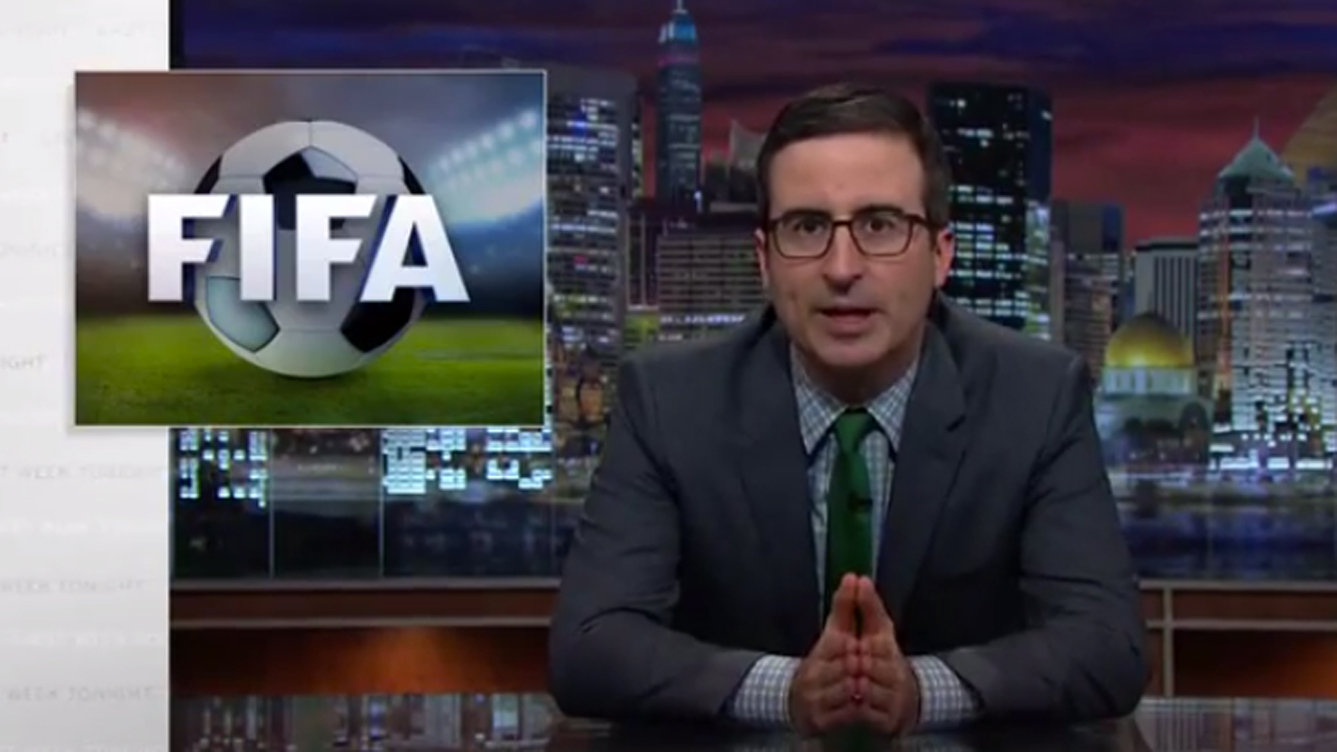John Oliver mocks FIFA president Sepp Blatter on 'Last Week Tonight'