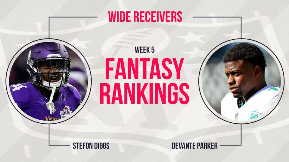 Week 5 Fantasy Football Rankings Wide Receiver Fantasy