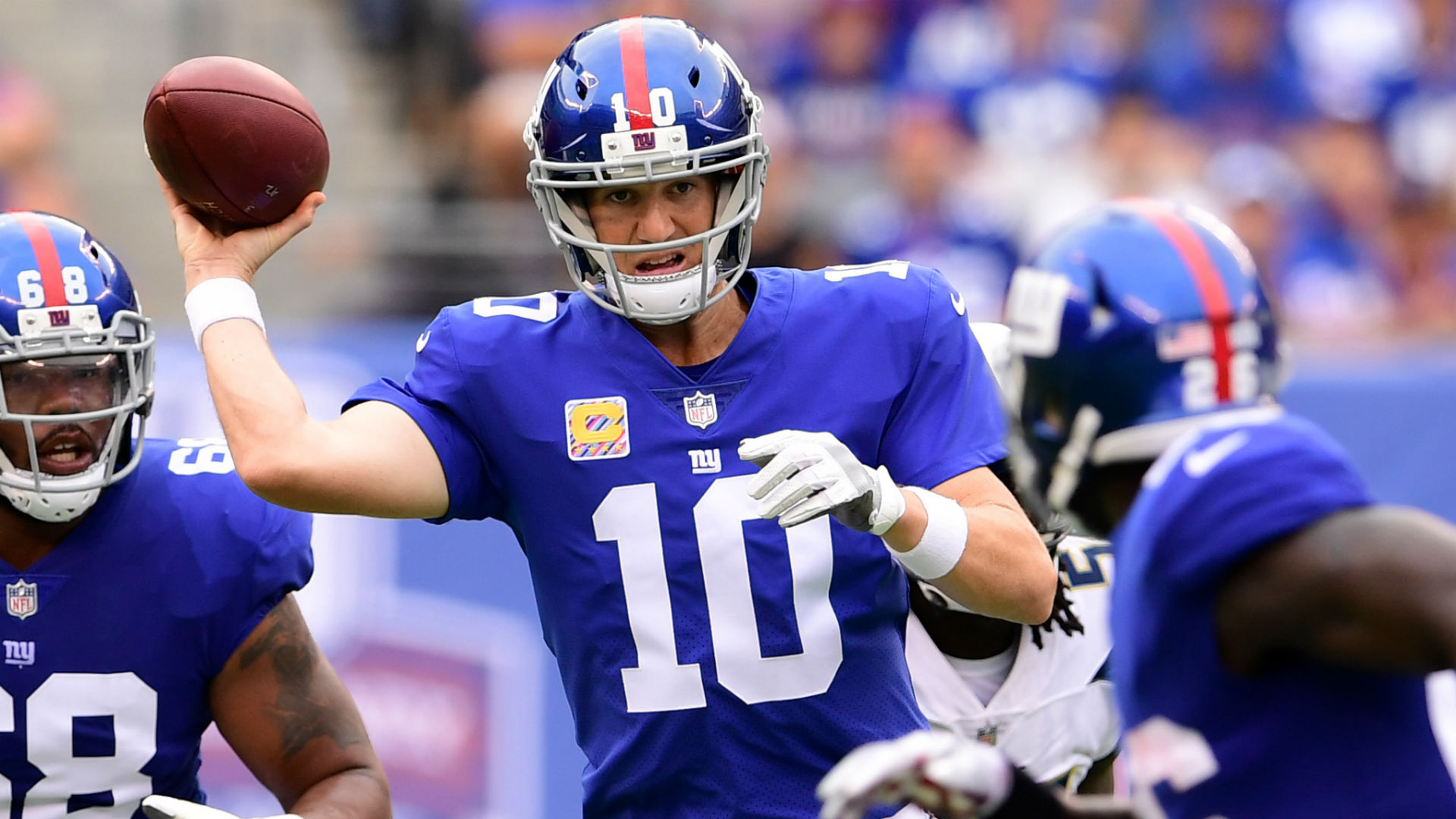 Eli Manning has earned right to be Giants starting QB throughout season