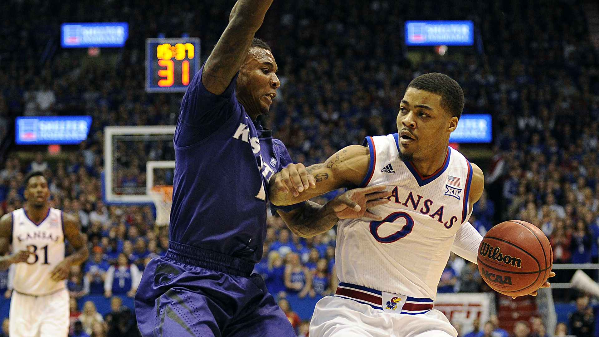 College basketball betting lines and picks – Rivals Kansas, Kansas State battle on Monday
